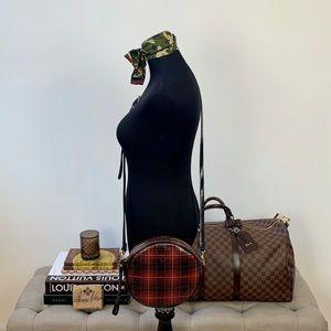 Patricia Nash Tartan Capaci Canteen Cross-body Bag